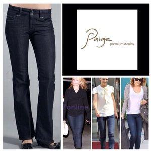 """WIR 28""""/33.5""""/8"""" Paige Hidden Hills Bootcut Jeans"""